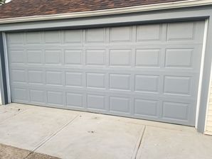 Before & After Residential Garage Door Installation in North Providence, RI (2)