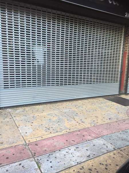 Retail roll up gate serviced in Boston, MA (1)