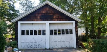 Before & After Garage Door Replacement in Providence, RI (1)