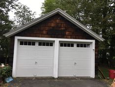 Before & After Garage Door Replacement in Providence, RI (2)